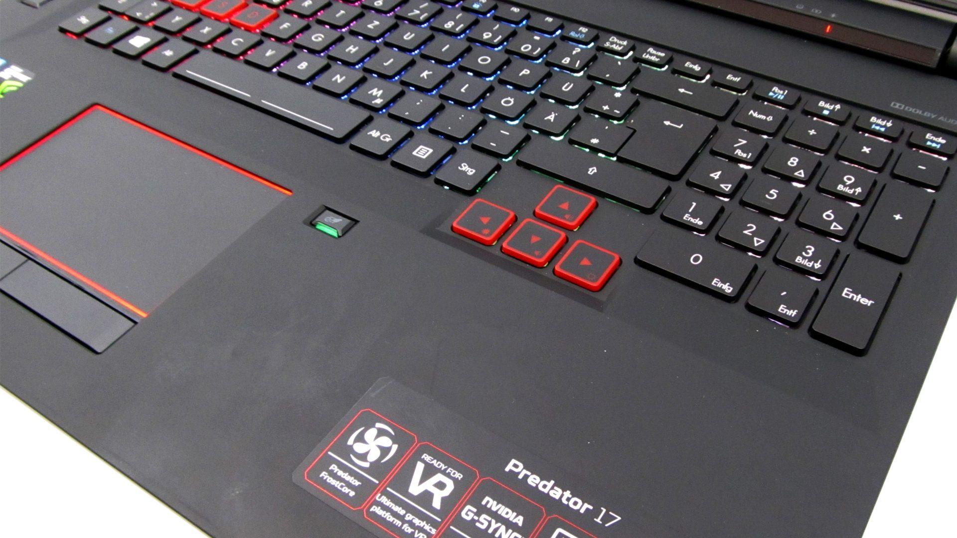 Acer Predator 17 G9-793-79NC Tastatur_4