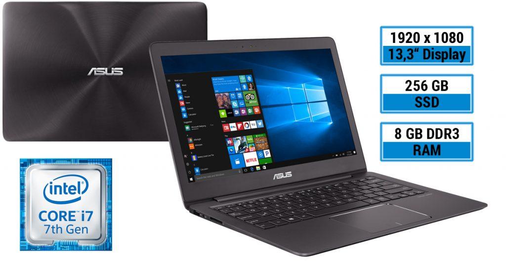 Asus Zenbook UX330UA-FC079T – edles Ultrabook im Alu-Gehäuse