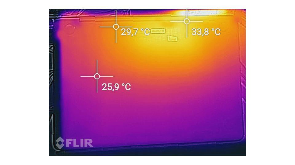Asus Zenbook UX330UA-FC079T Hitze_2