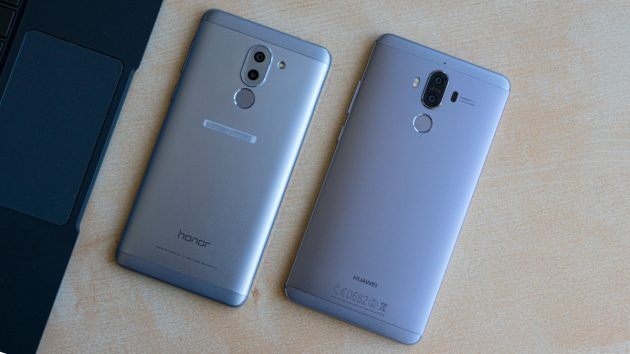 Huawei Mate 9 und Honor 6X