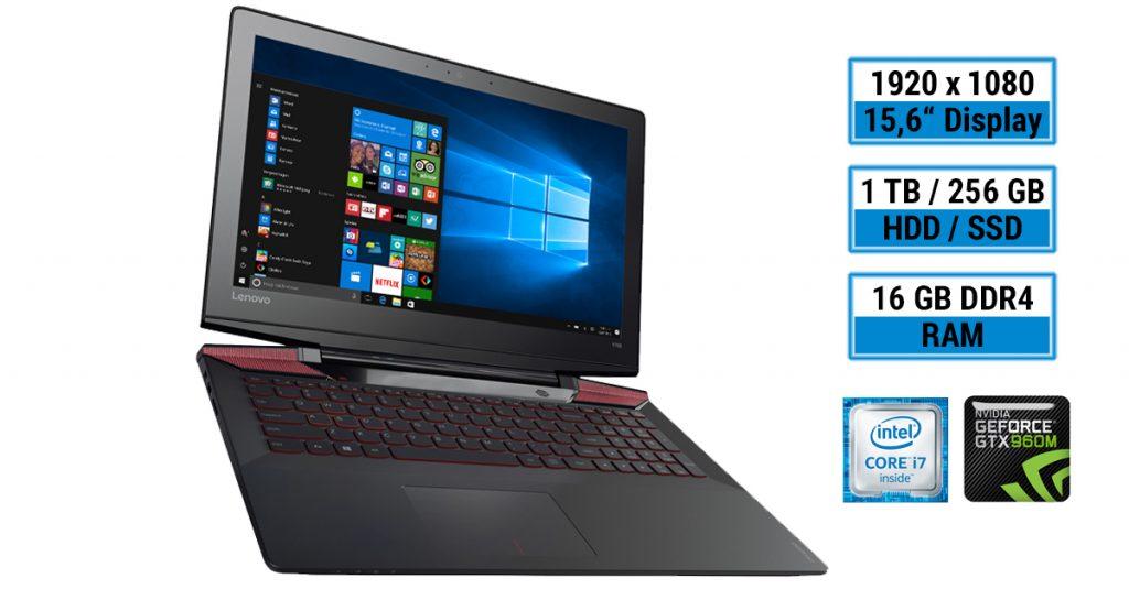 Test: Lenovo Y700-15ISK Gaming-Notebook mit guter Hardware-Ausstattung