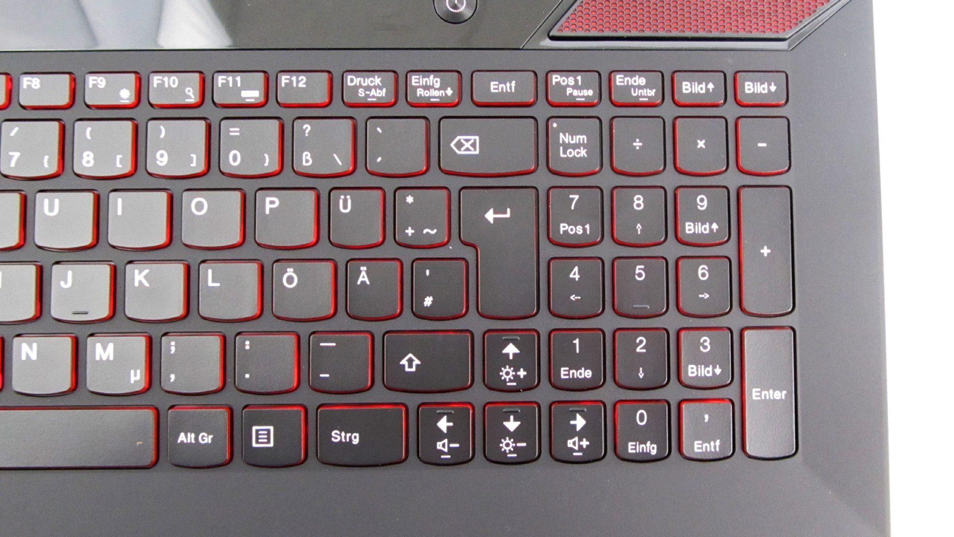 Lenovo Y700-15ISK Tastatur_3