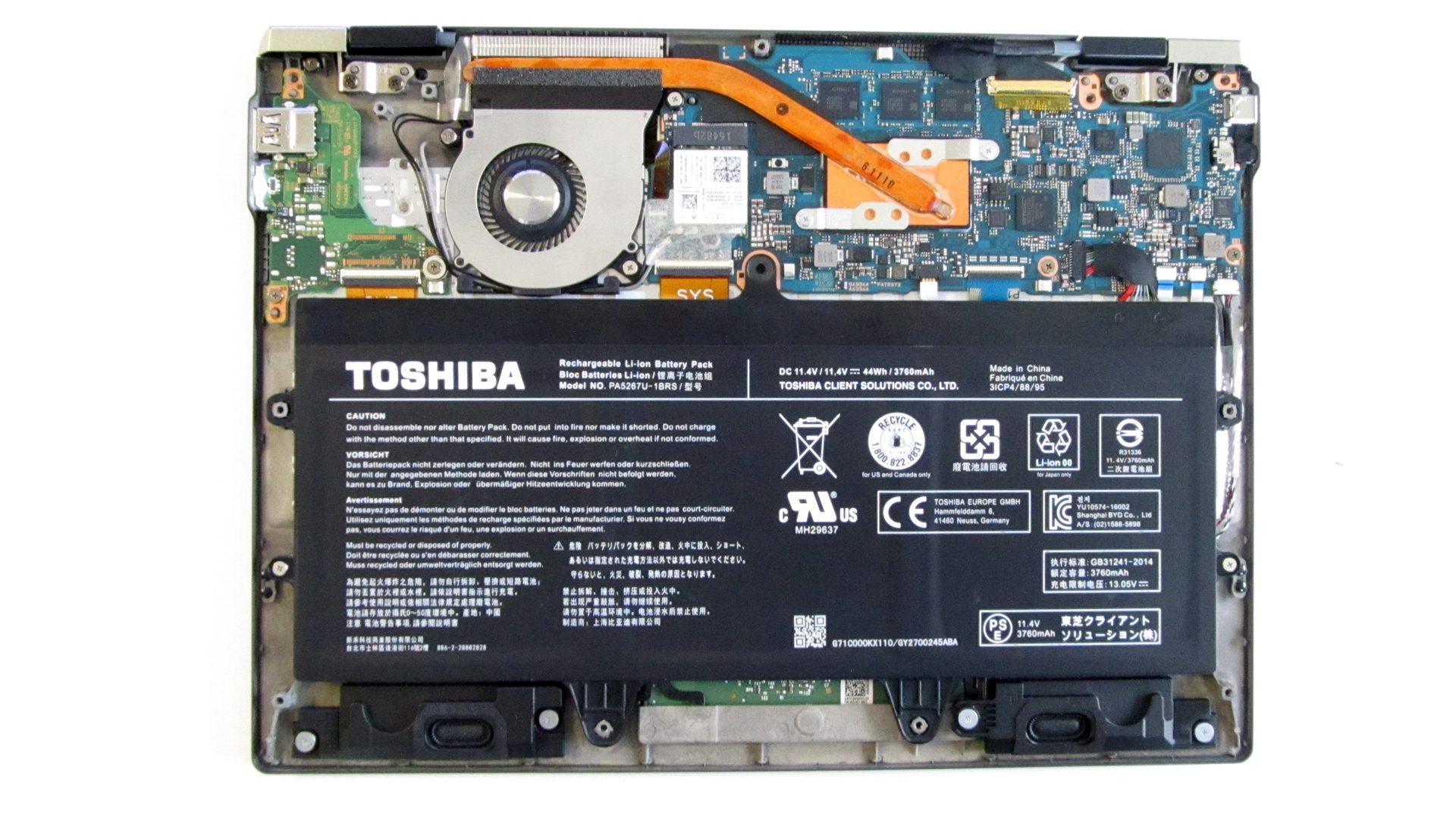 Toshiba_Portégé X20W Innen_1