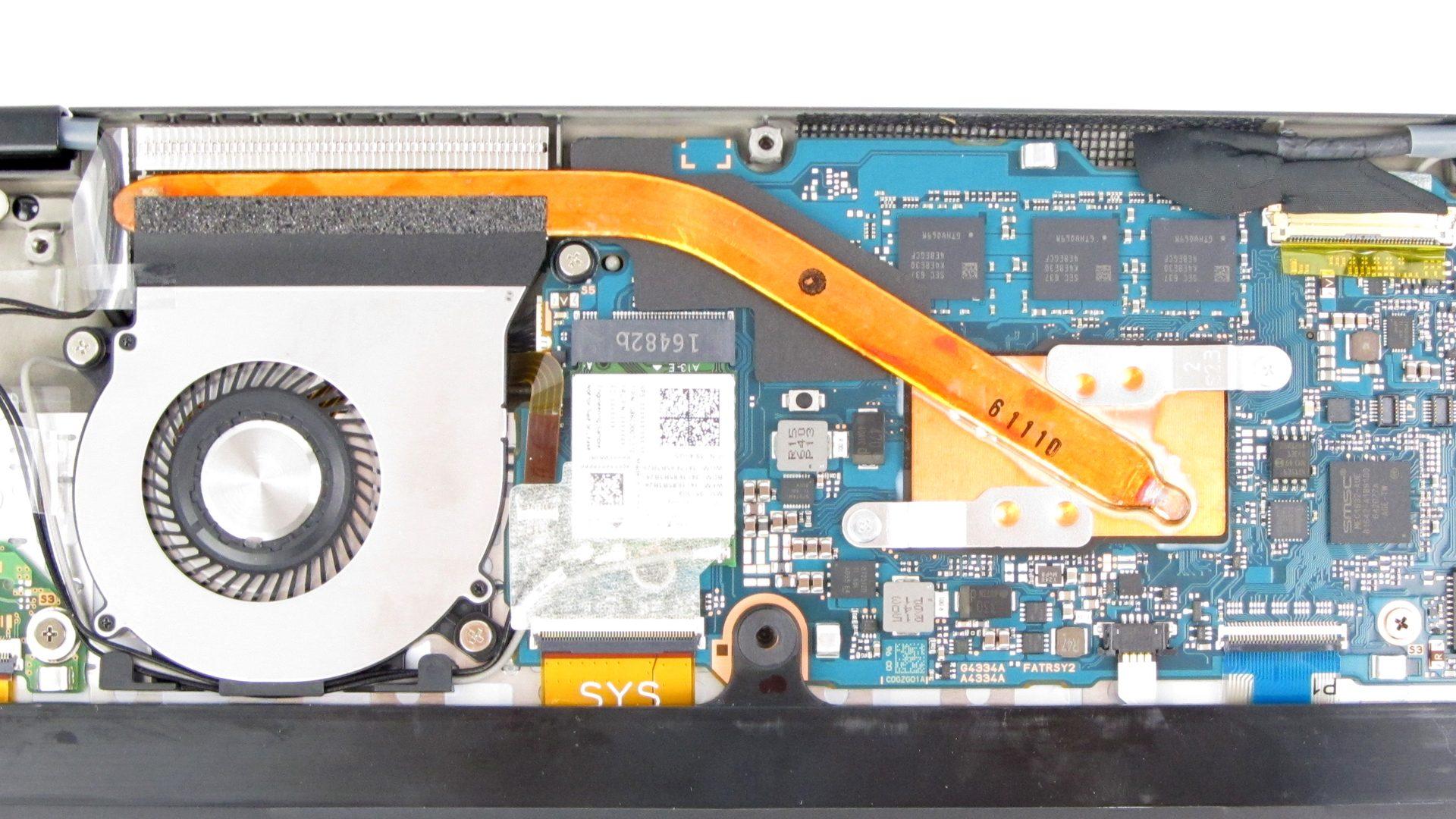 Toshiba_Portégé X20W Innen_7