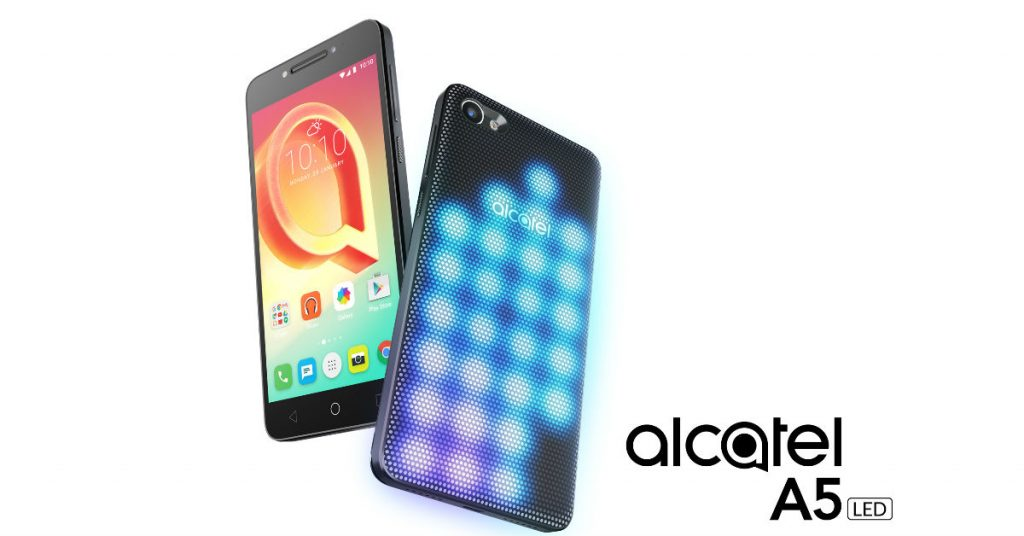 MWC 2017: Alcatel A5 LED – Blinkendes LED-Cover als Blickfang