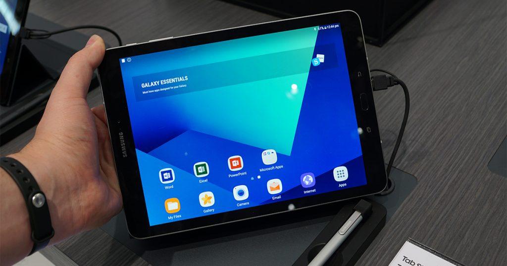 Neues Android-Tablet: Samsung zeigt auf dem WMC 2017 das Galaxy Tab S3