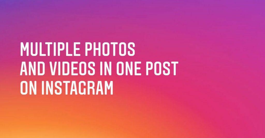 Instagram erlaubt Postings mit bis zu zehn Bildern