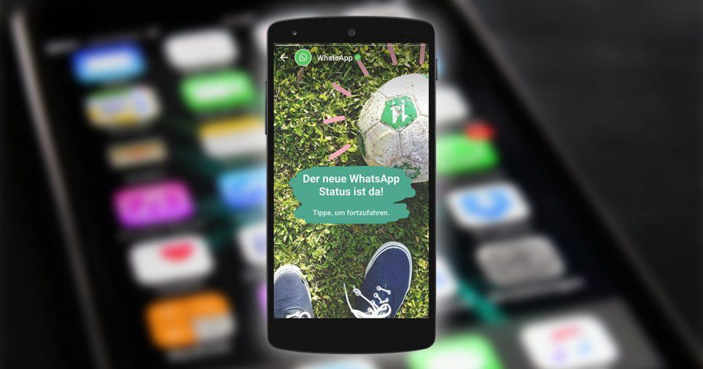 Munteres Snapchat-Klonen: WhatsApp führt neue Statusoptionen ein