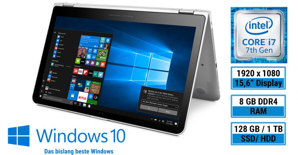 Notebook und Tablet in einem – HP Envy x360 15-aq101ng im Test