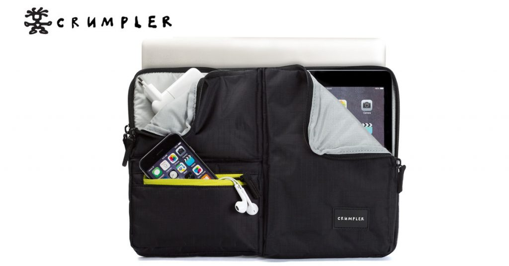 "Crumpler Notebooksleeve ""The Geek"" Elite"
