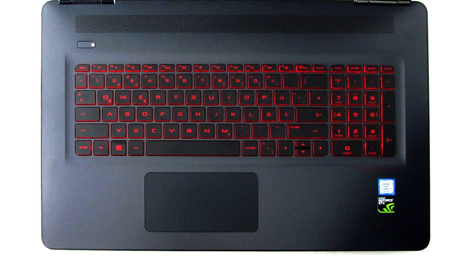 HP OMEN 17-w212ng Tastatur_1