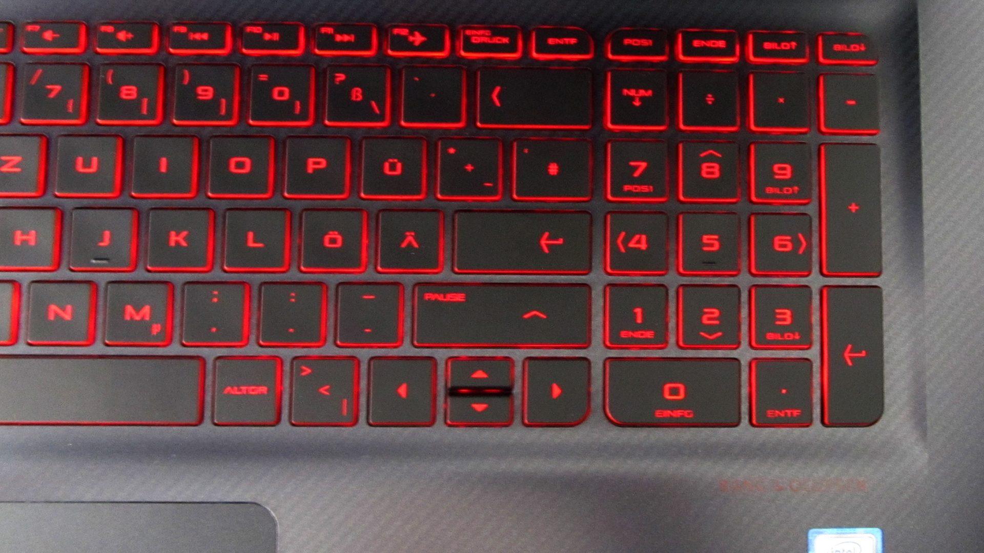 HP OMEN 17-w212ng Tastatur_5
