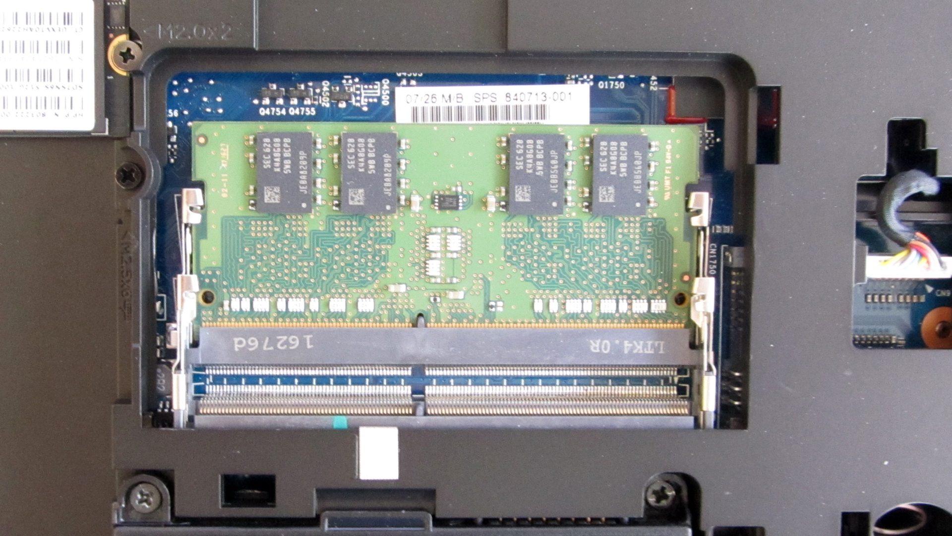 HP ProBook 650 G2 Innen – RAM Modul