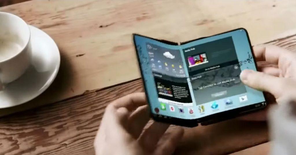 Galaxy X: Falt-Smartphone im Hinterzimmer auf der CES 2018?