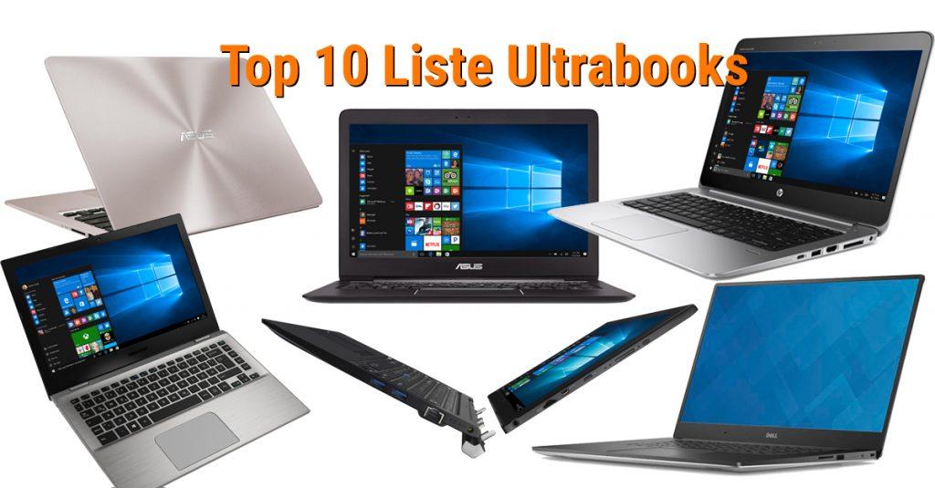 Unsere Top 10 Liste für Ultrabooks