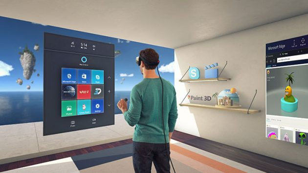 Windows 10 Creators Update Mixed Reality Apps
