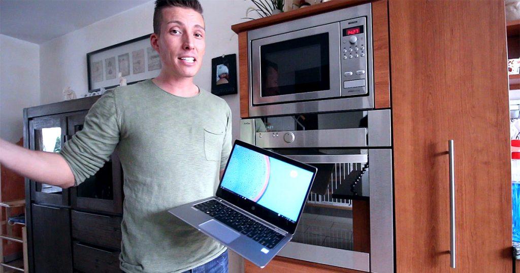 Härtetest: Was hält das HP EliteBook Folio G1 wirklich aus?