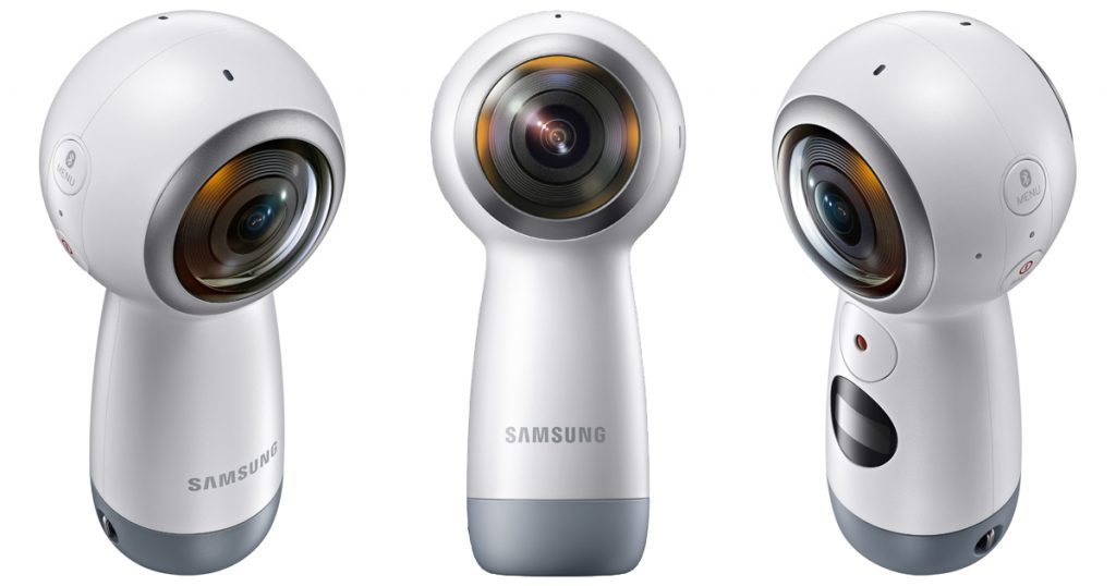Neue Gear 360 von Samsung beherrscht 4k und ist zum iPhone kompatibel