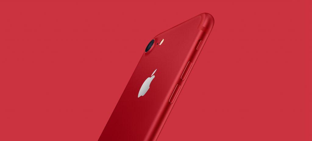 Das iPhone 7 gibt es jetzt in Rot. Und es gibt ein neues iPad