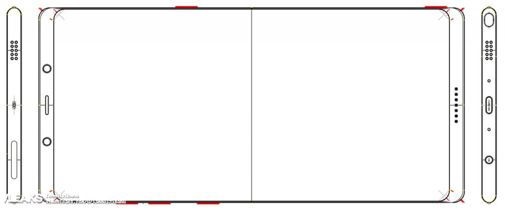 Skizze aufgetaucht: So könnte das Galaxy Note 8 aussehen