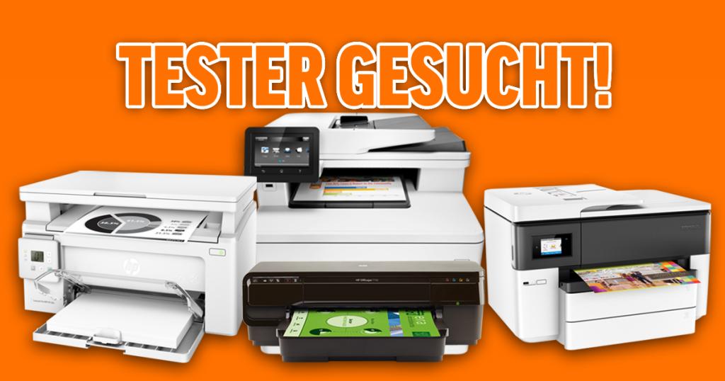 Tester für HP Business Drucker gesucht