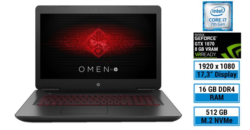 Test: OMEN by HP 17-w212ng Gaming-Notebook – Mögen die Spiele beginnen