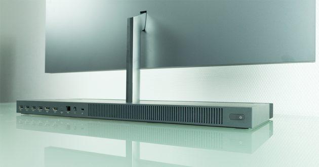HP ENVY 27-b153ng All in One PC rückseite Powerknopf