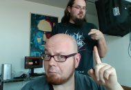 Schlierig und matschig: Die Bilder aus der Webcam