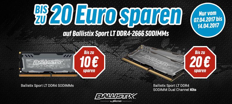 Ballistix Sport LT RAM kaufen und bis zu 20 Euro sparen