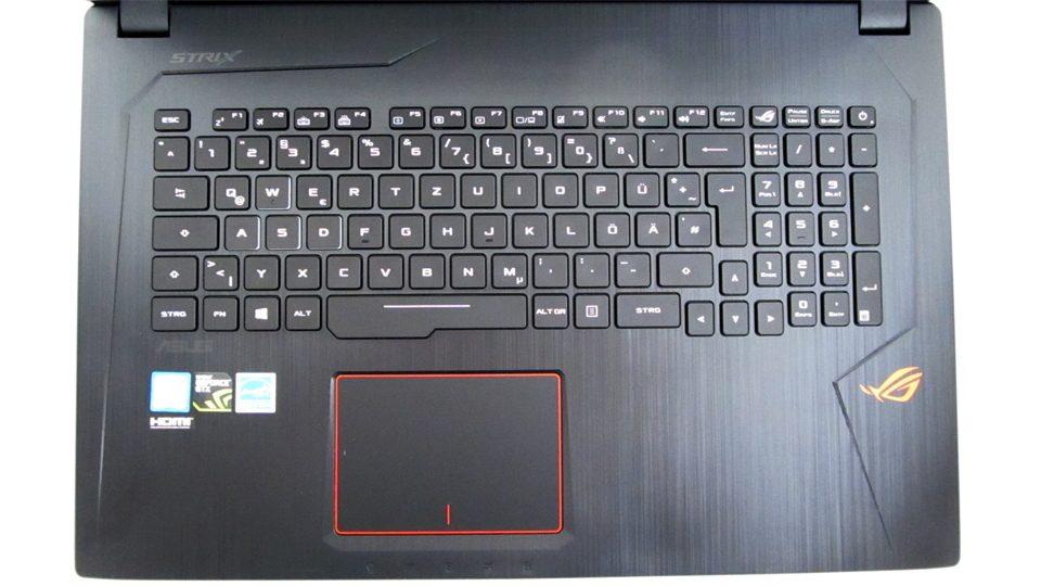 Asus Strix GL753VD-GC044T Tastatur_1