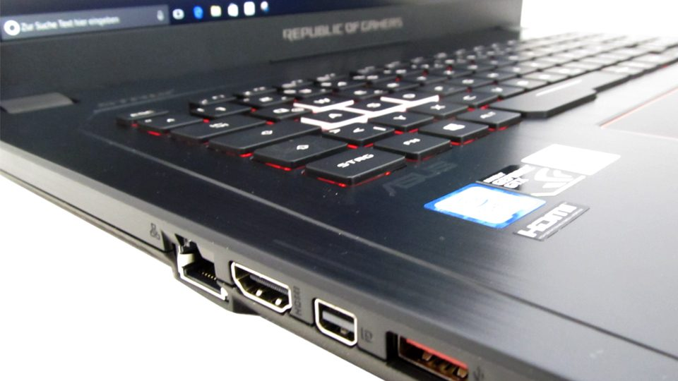 Asus Strix GL753VD-GC044T Tastatur_2