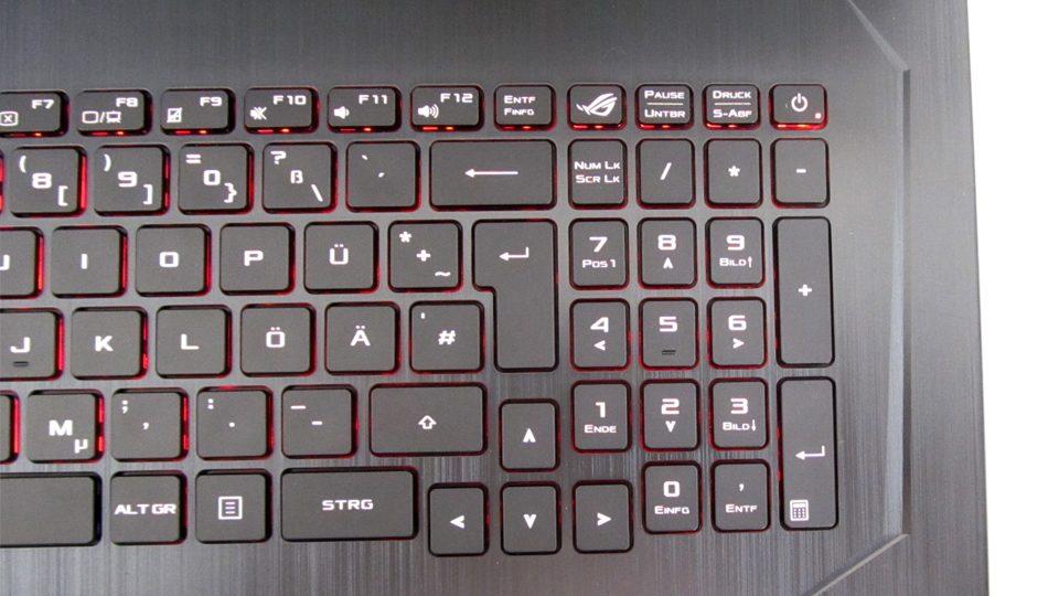 Asus Strix GL753VD-GC044T Tastatur_3
