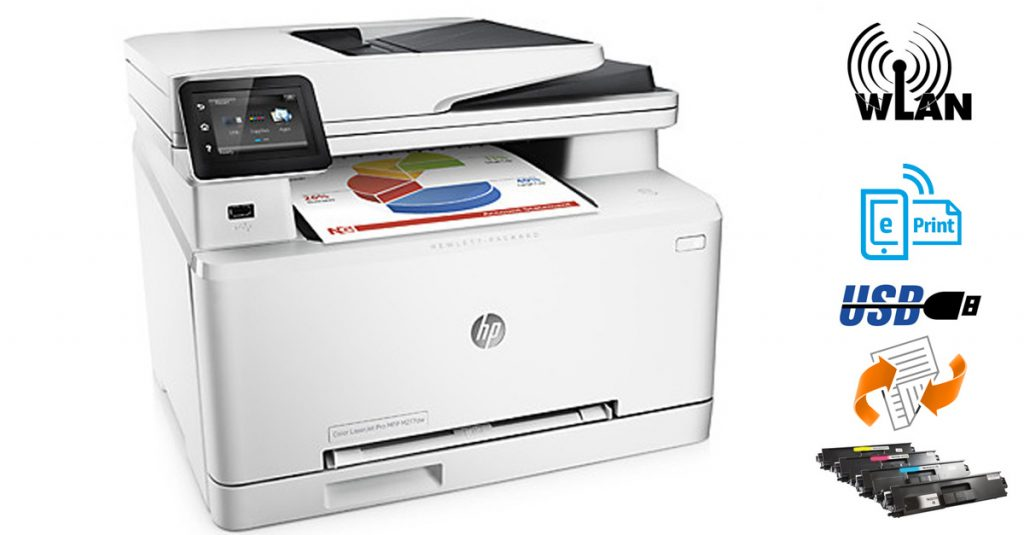 HP Color LaserJet MFP M277DW – Multifunktionslaserdrucker mit Duplexdruck im Test