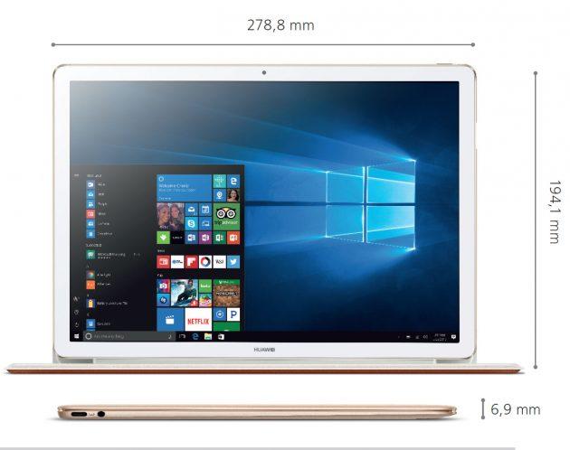 Huawei-Matebook-E-2in1-abmessungen