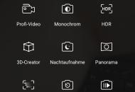 Honor 8 Pro Kameramenü