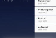 Samsung Galaxy S8+ Bixby Kalenderansicht
