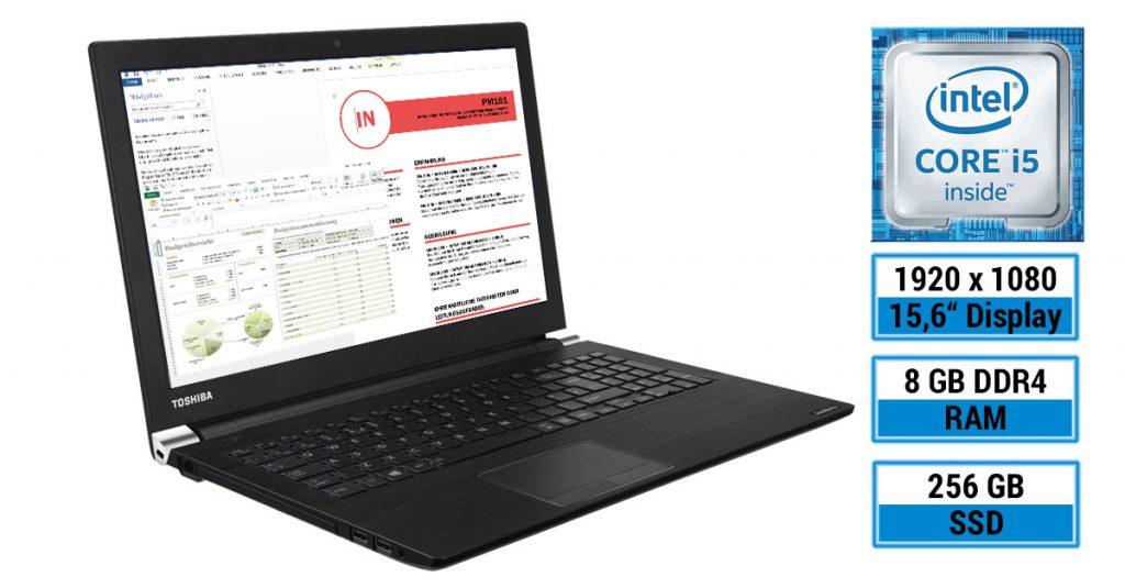 Office-Notebook im Test: Toshiba Satellite Pro A50-D-10X