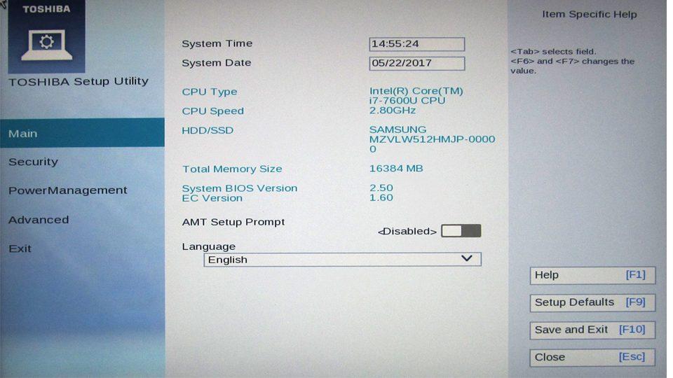 Toshiba_Portégé_X20W-D111 BIOS_1