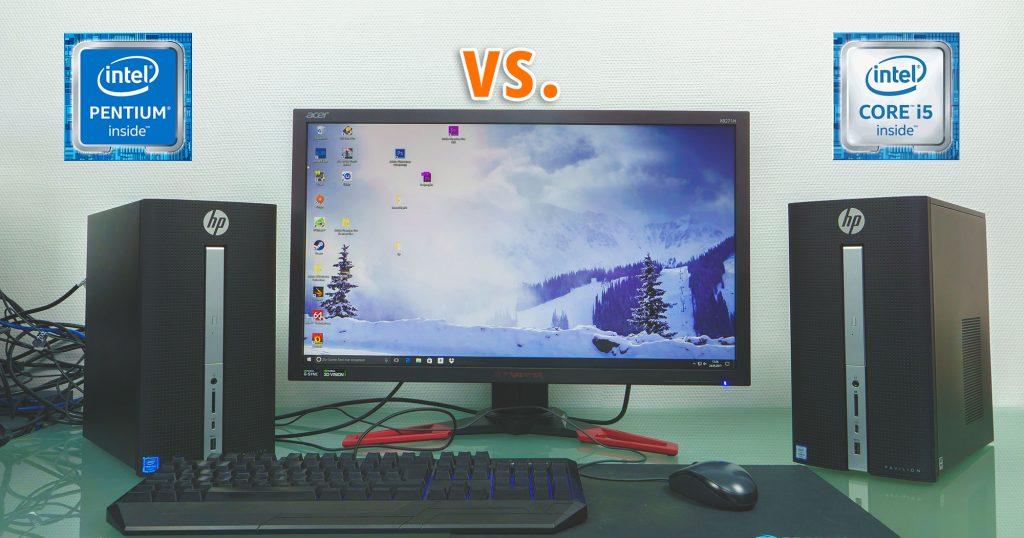 Intel Core i5 vs. Intel Pentium – braucht man wirklich den 'großen' Quad-Core?