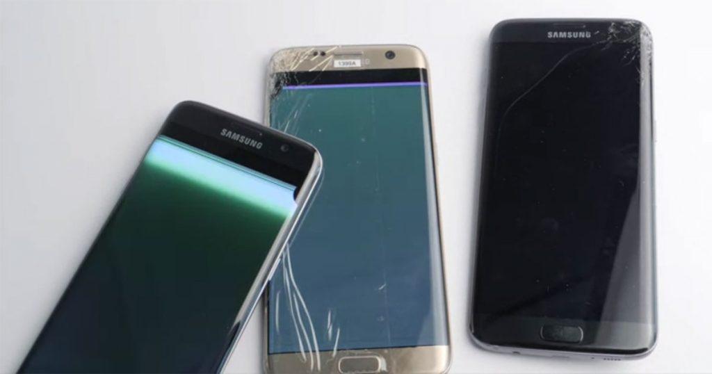 Stiftung Warentest: Samsung Galaxy S8 blamiert sich im Falltest