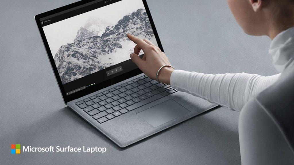 microsoft surface laptop mit windows 10 s offiziell. Black Bedroom Furniture Sets. Home Design Ideas