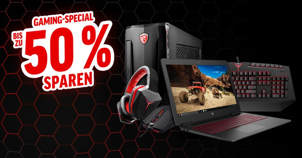 Bis zu 50% Rabatt: Gaming-Special bis zum 6. Juni