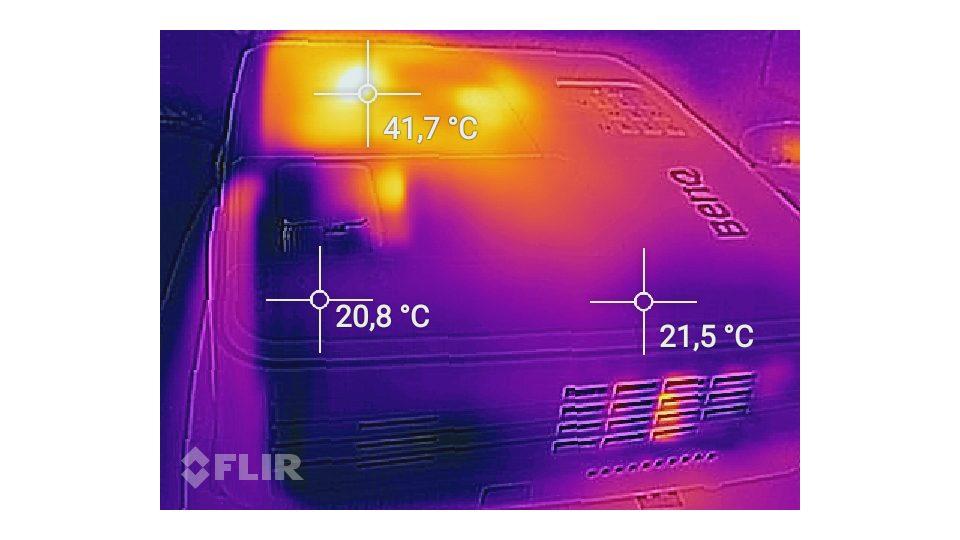 BenQ MS517H Hitze_1