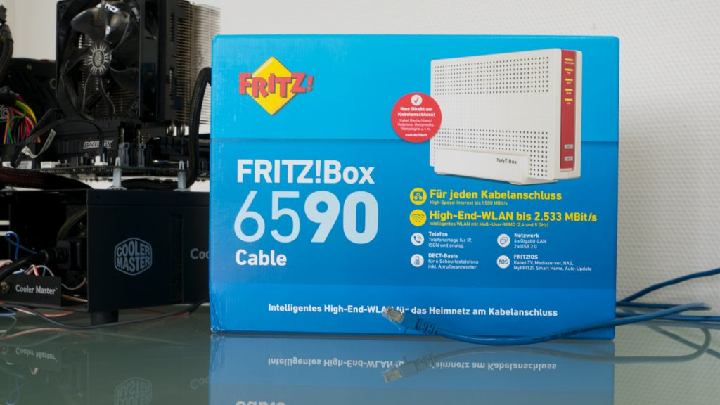 FRITZ!Box 6590 Cable im Lesertest