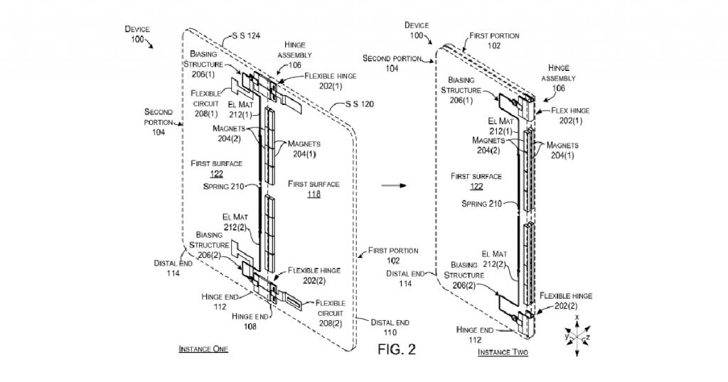 Faltbares Tablet von Microsoft: Neue Patent-Zeichnungen aufgetaucht