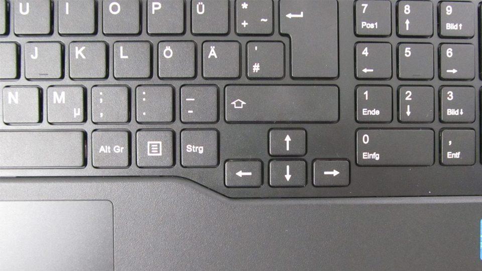Fujitsu LIFEBOOK A557 Tastatur_3