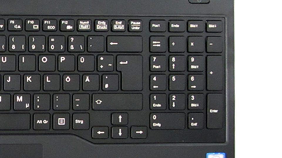 Fujitsu LIFEBOOK A557 Tastatur_6