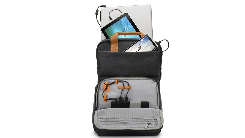 HP Powerup Notebook-Rucksack Ansichten_7