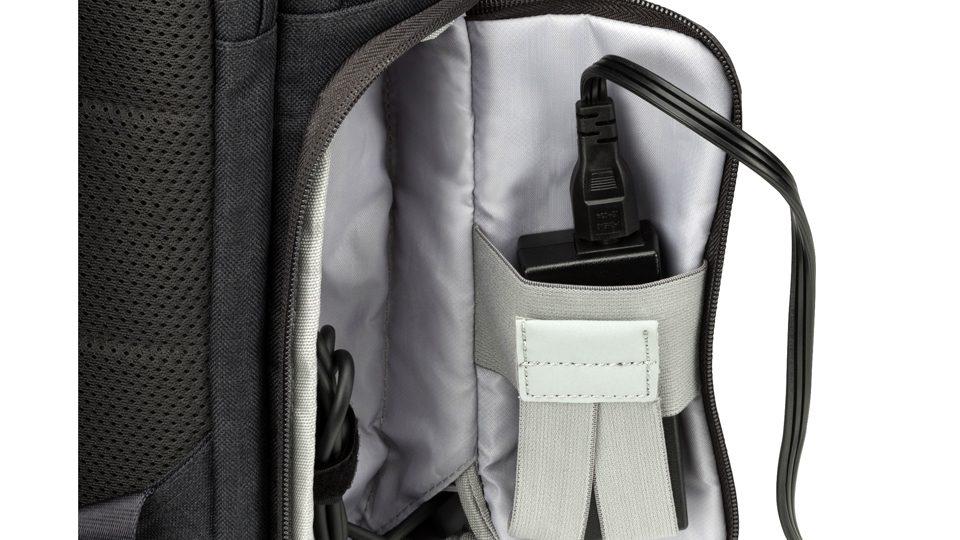 HP Powerup Notebook-Rucksack Taschen_innen4