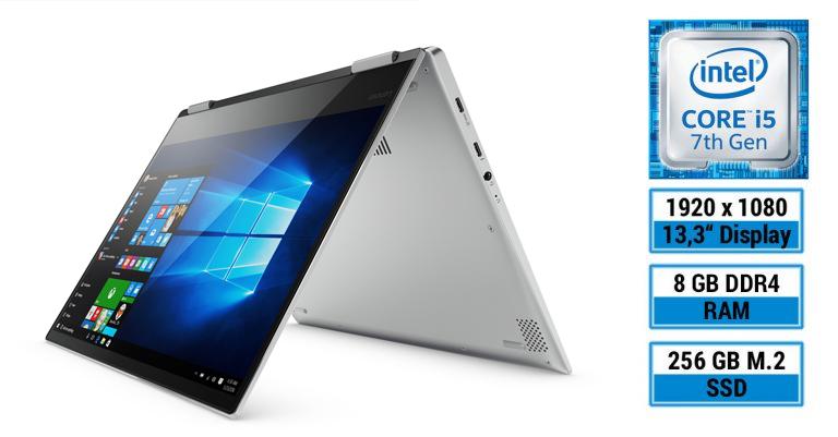 Edles Convertible-Notebook im Aluminium-Gehäuse – Lenovo YOGA 720-13IKB im Test